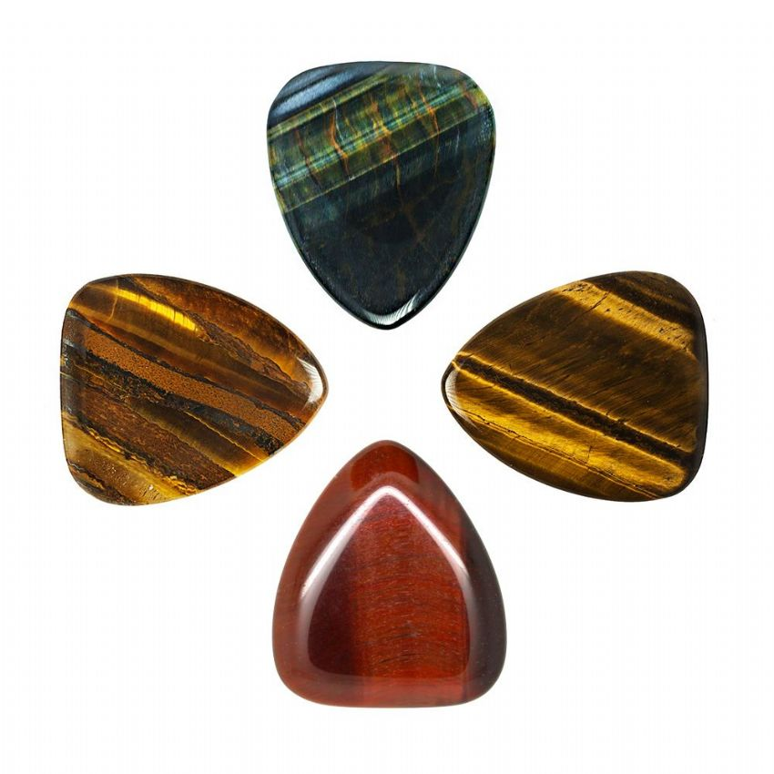 Tiger Tones - Pack of 4 Guitar Picks | Timber Tones